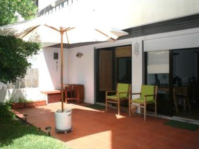Photo for Estoril coast! Apartment at 200m from the Beach with a private garden!