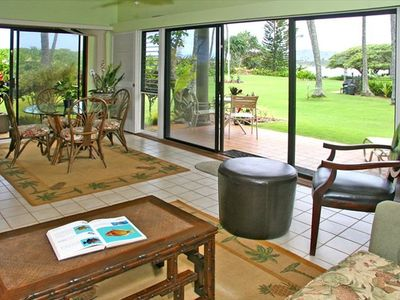Photo for Beautiful Oceanfront One Bedroom Condo - Wailua Bay