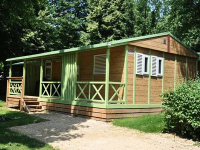Photo for Camping Rouffiac *** - lift Chalet 4 Rooms 6 People