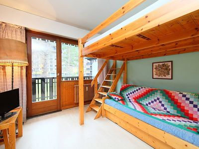 Photo for Apartment in the center of Chamonix with Lift, Parking, Internet, Balcony (102657)