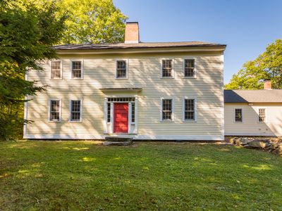 Photo for Historic 1792 Home With Gourmet Kitchen & Modern Amenities - Quiet Rural Settig