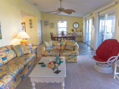 Photo for Fall Weeks OPEN 4 bed, canal front in Hatteras w/ hot tub