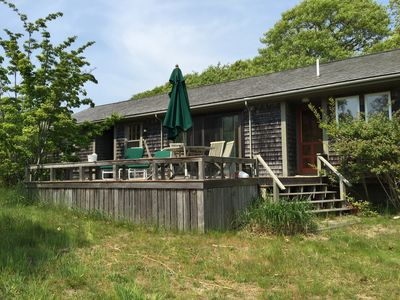 Photo for Airey Two Bedroom Menemsha cottage