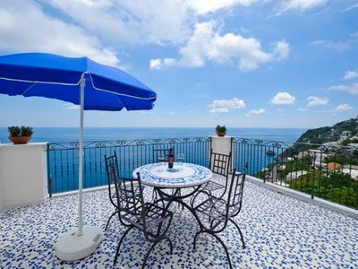 Photo for Two Bedroom Apartment Praiano  Virtus is a pretty apartment in an enviable position in a pedestrian area