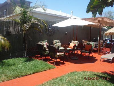 Photo for Family Favorite~Free Dog~2BlkBeach~2Park-Huge Patio seats 6