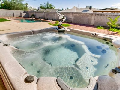 Photo for RELAXING & FUN SCOTTSDALE- SLEEPS 16- POOL&HOT TUB - Four Bedroom House, Sleeps 16