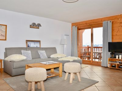 Photo for ARC 1800-Superb Duplex 85m2 - Skis with feet-Panoramic view-Garage-Pool