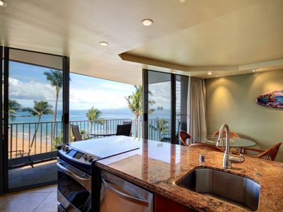 Photo for Gorgeous Oceanfront Condo! - Rates Starting @ $200.00/night - Kamaole Nalu #604