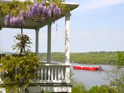 Photo for PANORAMIC RIVER VIEWS-Kayaking-Vineyards-$325/night 2 guests/$68 ea extra guest