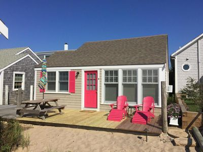 Photo for New Listing Waterfront North Truro Beach Cottage on Cape Cod