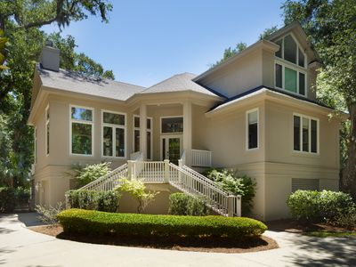 Photo for Perfect 4 BR/BA Beach Getaway in Palmetto Dunes, Private Pool  & Close to Beach