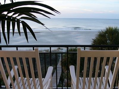 Magnificent Ocean view from great room balcony