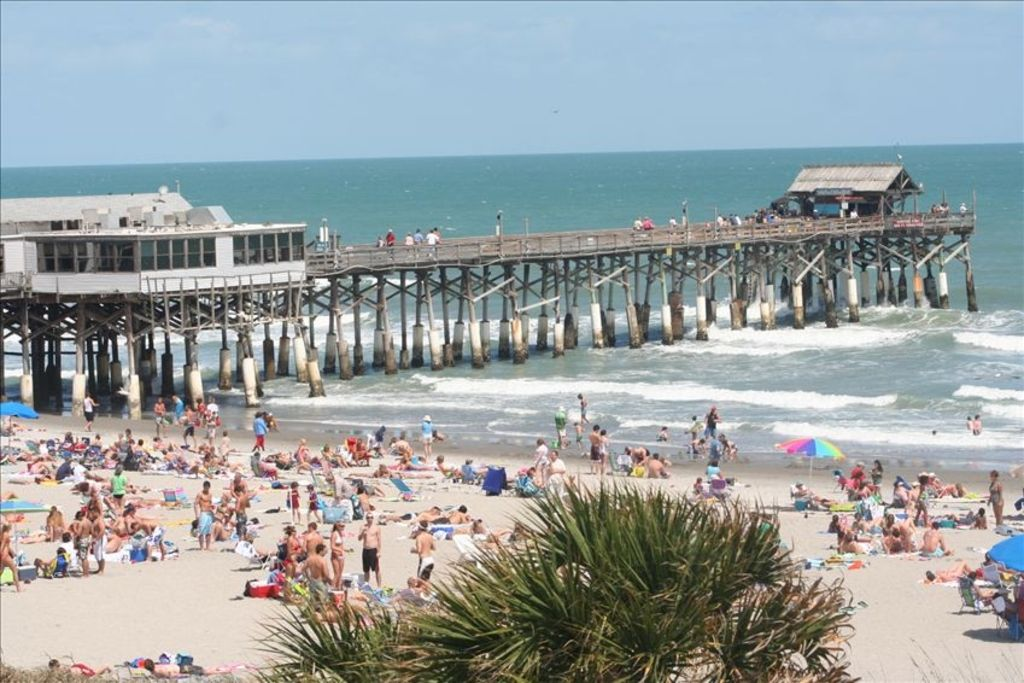 View Of Cocoa Beach Pier From The Cau