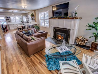Photo for **New! Beautiful Fully Remodeled 3,000 sf Historic Home Downtown McCall w HotTub