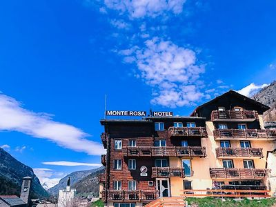 Photo for Apartment Monte Rosa  in Saas - Grund, Valais - 8 persons, 3 bedrooms