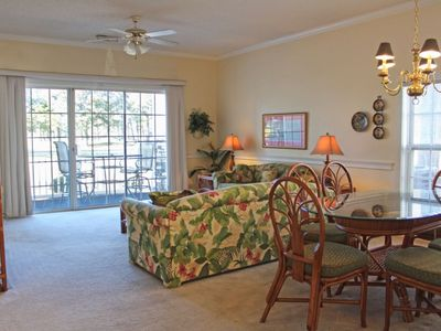 Great Views overlooking the Lake and the golf course!