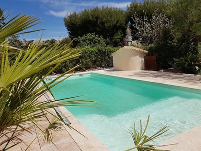 Photo for Spacious seaside villa with pool Domaine de Port d'Alon 14 people