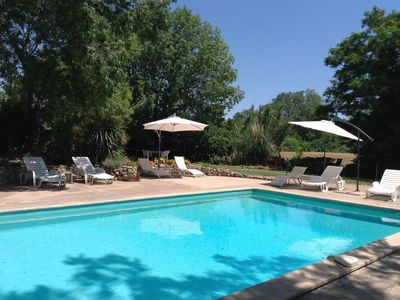Photo for Rural gite with pool. Great for families. 30 minutes drive to the beach.