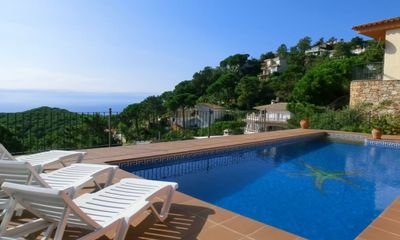 Photo for Villa - 5 Bedrooms with Pool, WiFi and Sea views - 104832