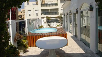 Photo for PREDICTED COVERAGE WITH SWIMMING POOL AND BARBECUE IN THE APARTMENT: 120m FROM THE SEA