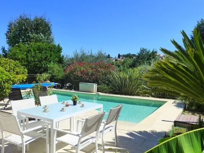 Photo for Vacation home Villa du Puits in Vence - 8 persons, 3 bedrooms