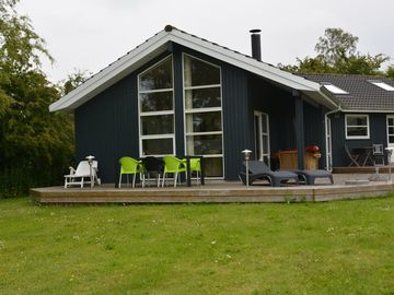Although and light cottage Ordrup beach, odsh-, Denmark with internet / wifi