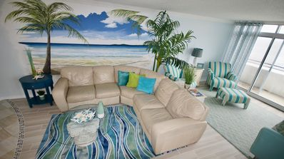 Photo for Family Friendly Ocean Front Gorgeous unit with 1000sq ft private balcony