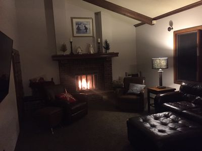 Main Living room with Fireplace