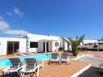 Photo for Beautiful Casa del Paraiso on Parque Del Rey in Playa Blanca with heated pool