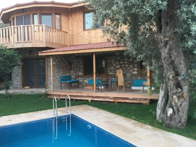 Photo for Stunning 3 bedrooms Villa with fantastic sea and mountain wiev