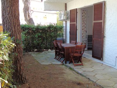 Photo for M80 - Marcelli, three-room apartment with garden at the Residence MareVerde