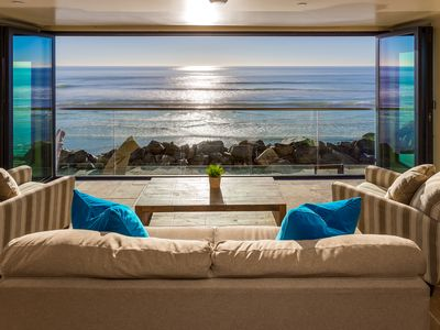Photo for Luxury Oceanfront Retreat with Oceanview Decks, Spa, BBQ, and A/C