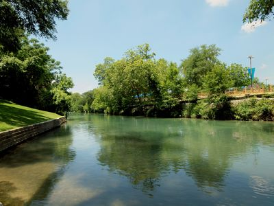 Photo for Riverfront View - 2Br/2Ba on the Comal River with private river access!