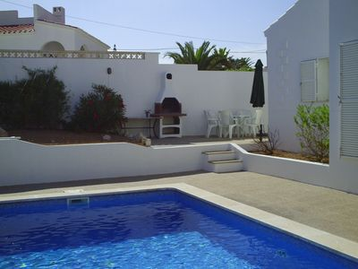 Photo for VILLA WITH PRIVATE POOL, BBQ AREA AND SEA VIEW