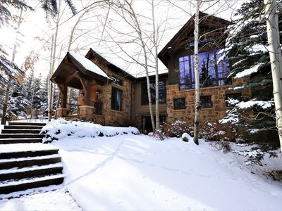 Photo for Snowmass Village- Five Bedroom True Ski-in and Ski-out Chalet in Two Creeks