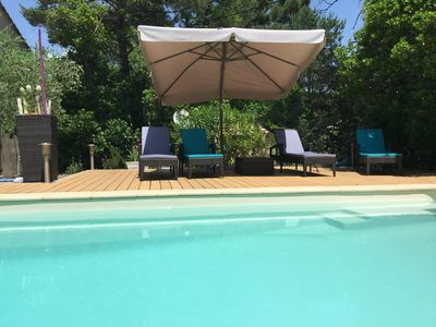 Photo for Houses, swimming pool 30 minutes from the beaches and 1 hour from the ski slopes - La Bocca