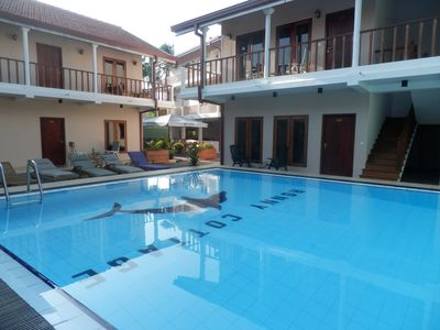 Pool view,family & deluxe rooms