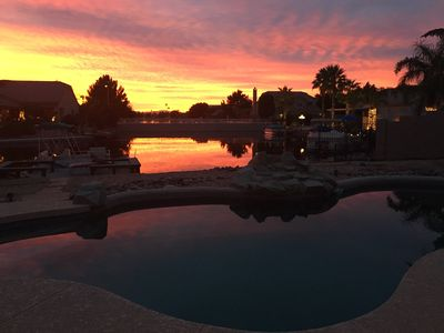 Photo for Private Lake Front Home Pool-Boat-Fishing **28 day minimum for Feb/2020**