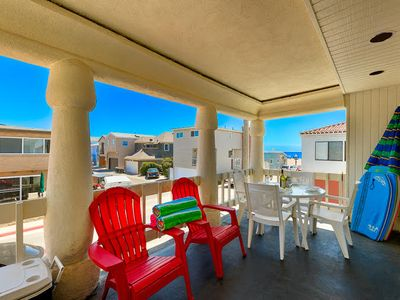 Photo for 25% OFF OPEN MAY - Beach Home in Premiere Location & Steps to the Sand!