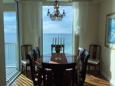 Photo for Luxurious~Upscale~Floor to ceiling windows~3 private suites~wrap around balcony~
