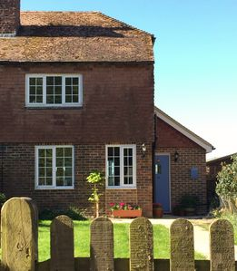 Photo for JULY AVAILABILITY! Rural cottage near Rye with spectacular views