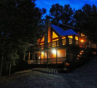 Photo for Mountain Vista: Stunning 50-Mile Views, Acres Of Seclusion, New Hot Tub/Fire Pit
