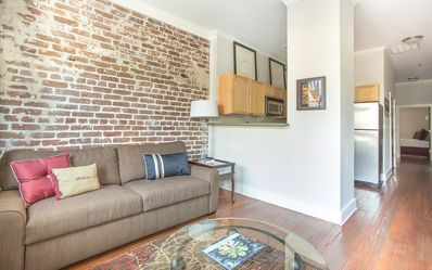 Photo for Stay with Lucky Savannah: Downtown Condo Steps to River Street!