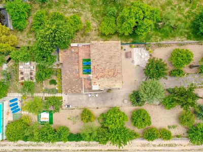 Photo for Villa Can Na Margalida with saltwater pool, garden and village views