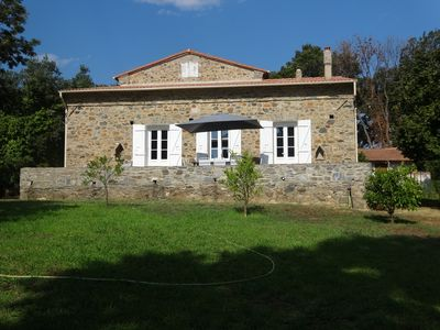 Photo for Corsican stone villa, T4, close to the sea