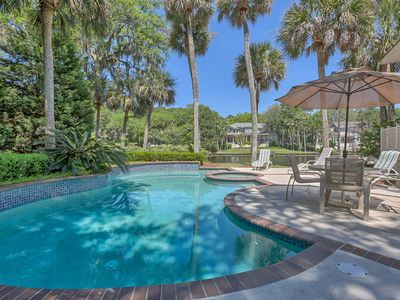 Photo for Exquisite Home on 11 Mile Lagoon with Private Pool & Spa + Dock