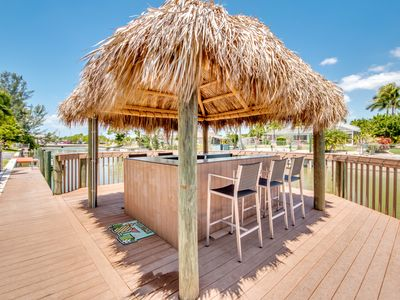 Photo for TIKI RETREAT!,   Cleaned and disinfected with EPA approved cleaning products.