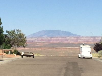 Lovely View of Navajo Mountain  in Front Yard