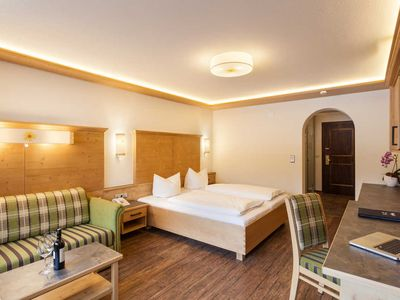 "Photo for Double room ""Arnika"" - Hotel Tyrol am Haldensee"