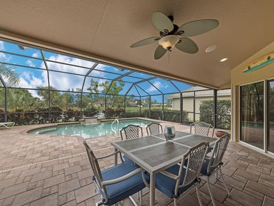 Photo for Saltwater Pool Home w/Lake Views, Gated, Close to Gorgeous Naples Beaches!